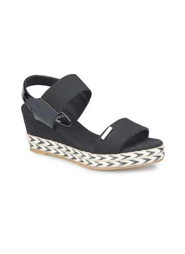 U.S. Polo Assn. Sandalet Siyah